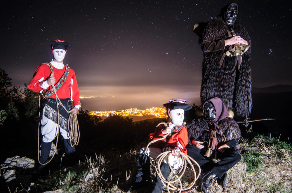 Masks of Sardinia & its spectacular folklore
