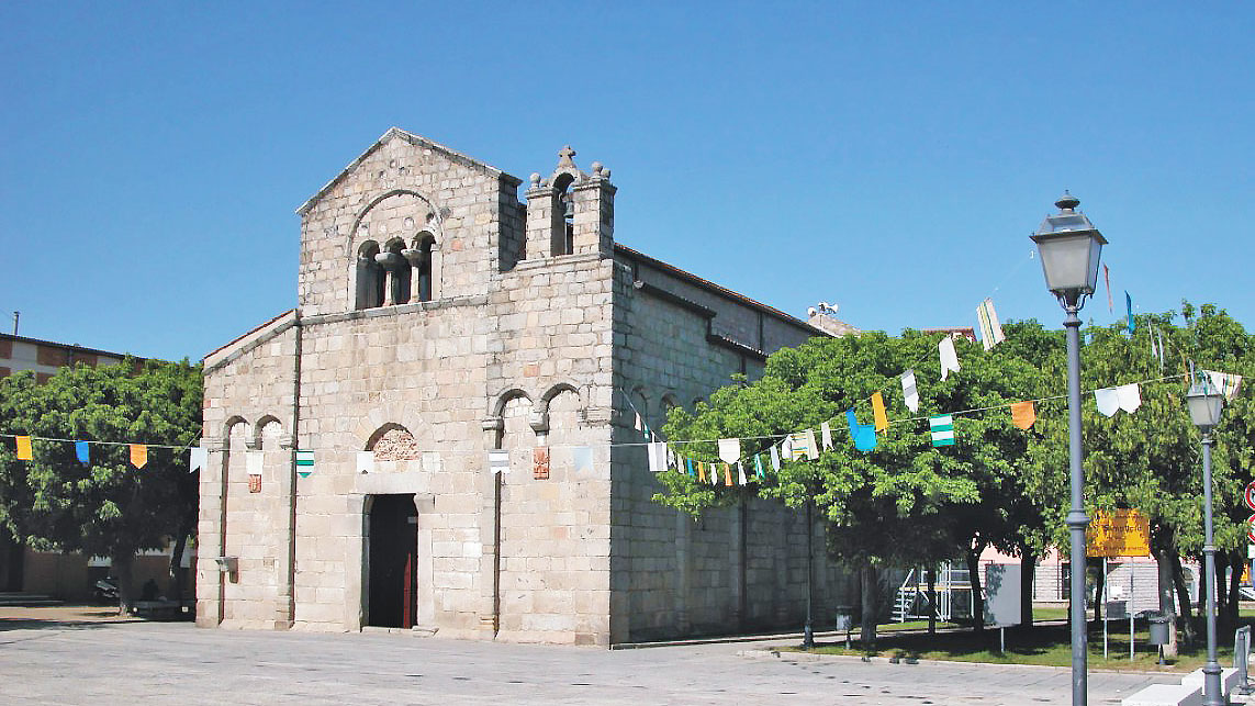The romanesque Church of San Simplicio in Olbia