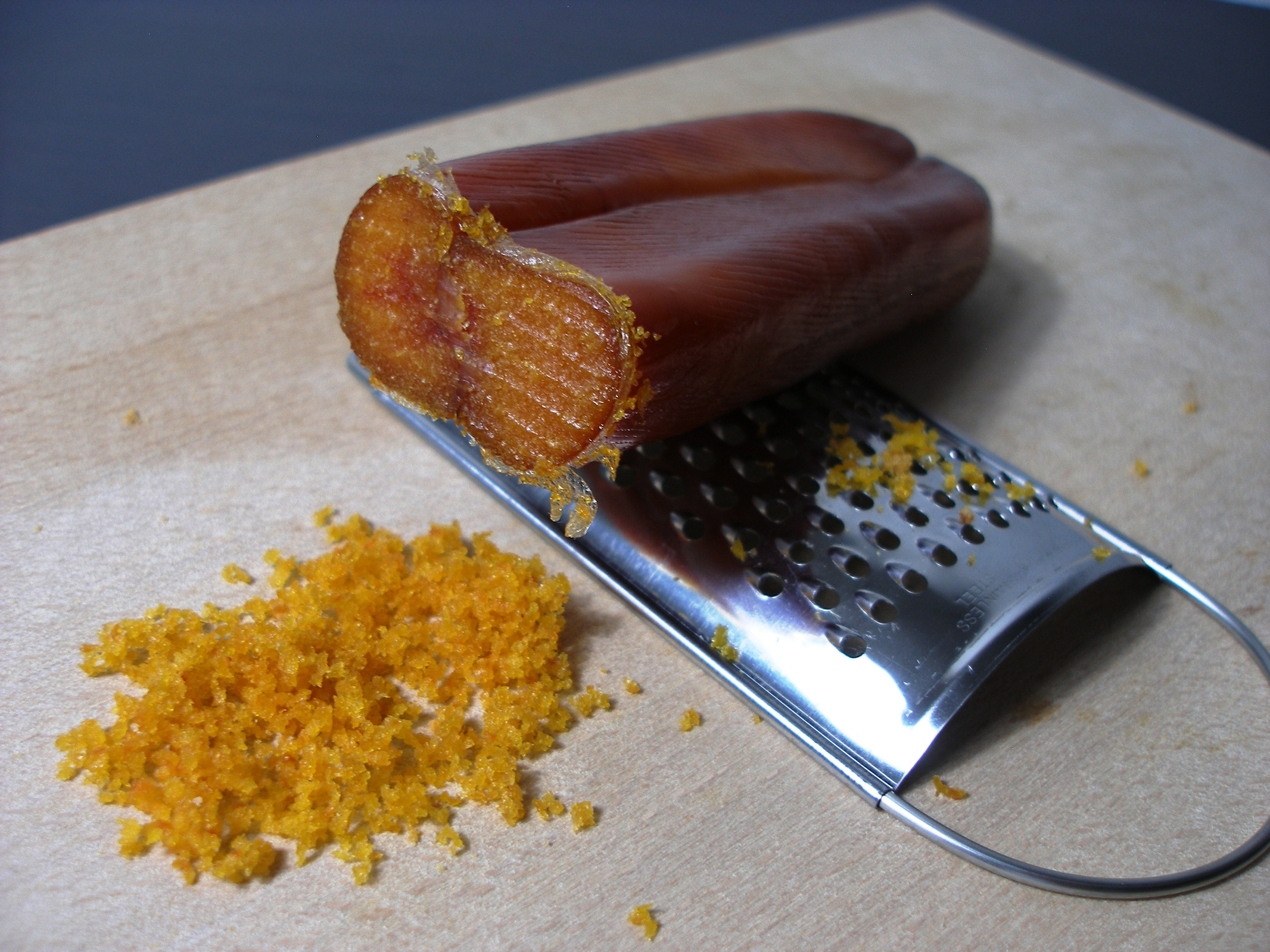 BOTTARGA: a fish food excellence from Sardinia