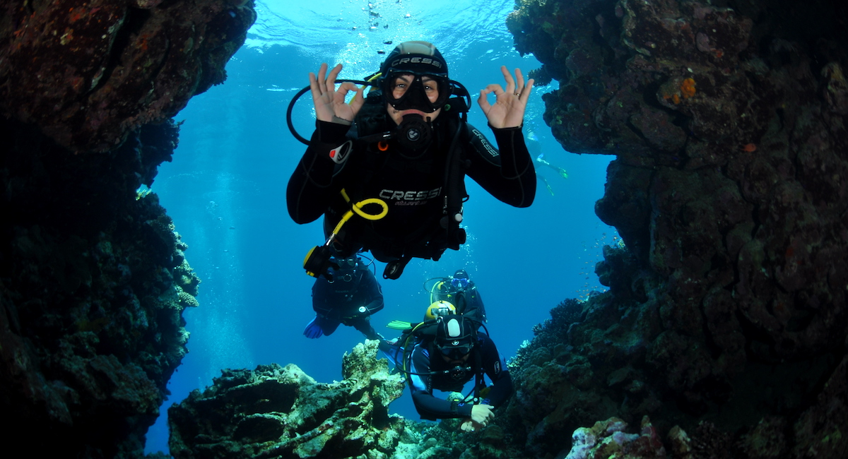Scuba Diving in Golfo Aranci
